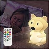Mobius Nachtlicht für Kinder - Nachtlicht Baby - Kawaii Deko - Nachtlicht dimmbar - Nachtlampe Kinderzimmer - Baby Nachtlicht - Stilllicht Baby - Einschlafhilfe - Nachttischlampe - Schlummerlicht