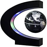 WYZXR Floating Globe Sphere Map Magnetschwebekugel 4-Zoll-LED-Leuchten rotierenden Bürotisch Home Decoration Decoration Ideas