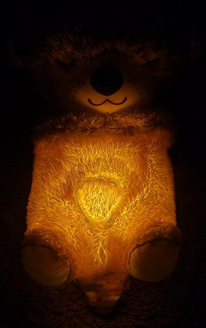 Schlummer Otter als Nachtlicht