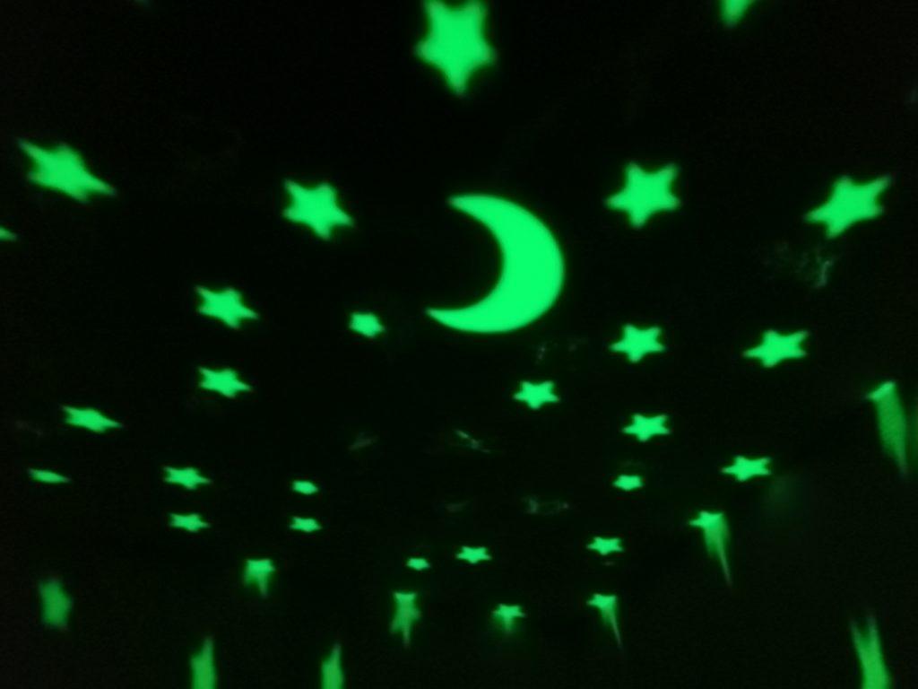 grünes Nachtlicht