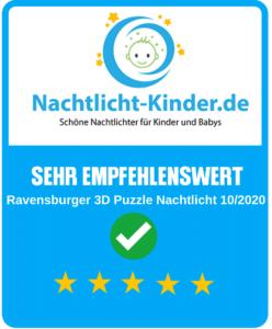 Ravensburger 3D Puzzle Nachtlicht Siegel