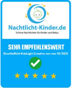 Testergebnis KidsLight Creativ
