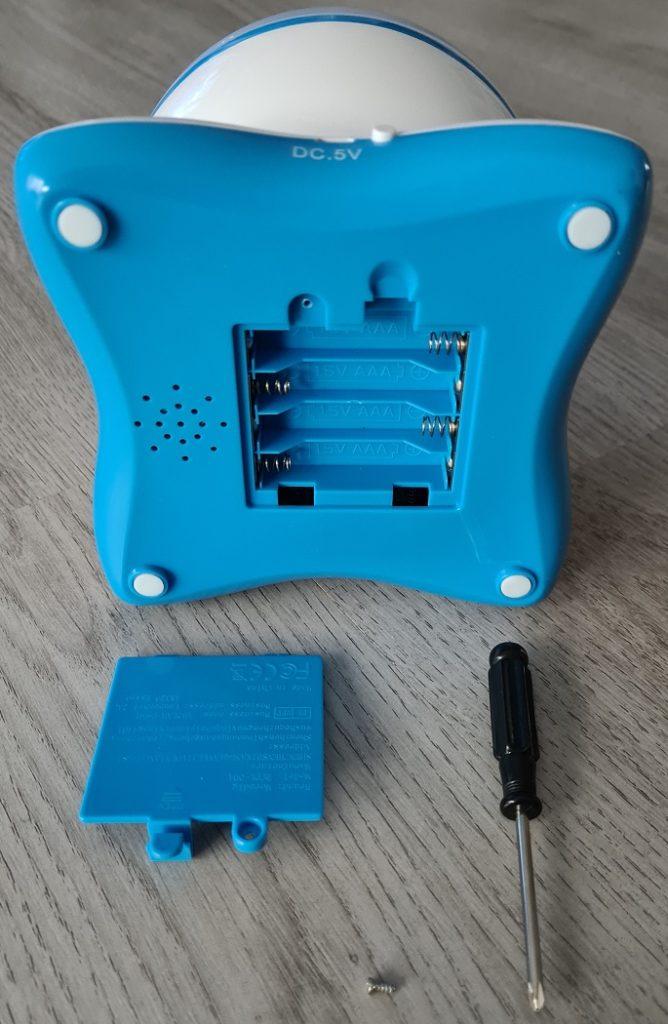 Moredig Projektor Batteriefach