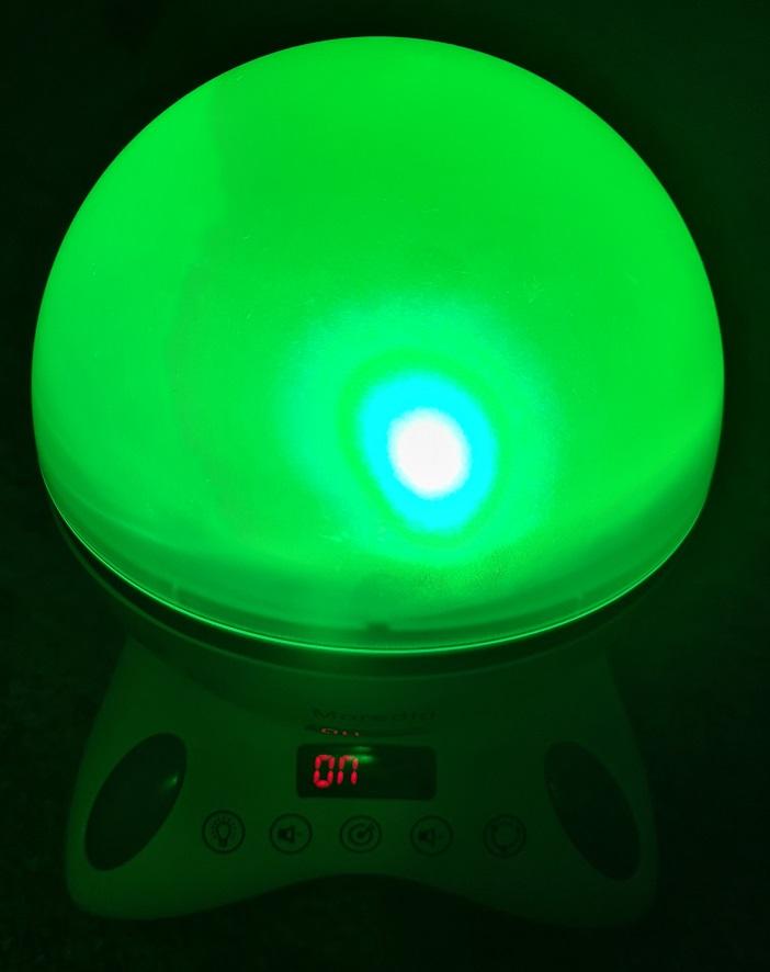 moredig grün leuchten
