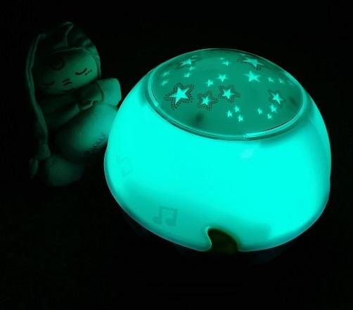 Chicco Nachtlicht Sternenhimmelprojektor türkis