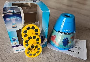 Philips Disney LED Tischleuchte Projektor Test