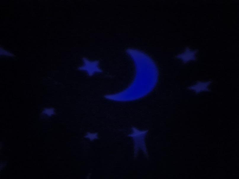 Ravensburger ministeps Schlummerlicht Sternenhimmel blau leuchtend