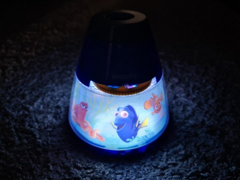 philips disney projektor als Nachtlicht