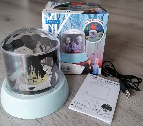Lexibook Frozen 2 Projektor Kinderzimmerlampe im Test