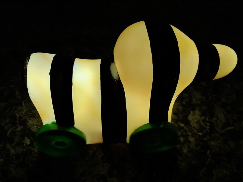Nachtlicht Janosch leuchtend 1