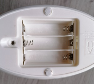Batteriefach ZAZU Nachtlicht
