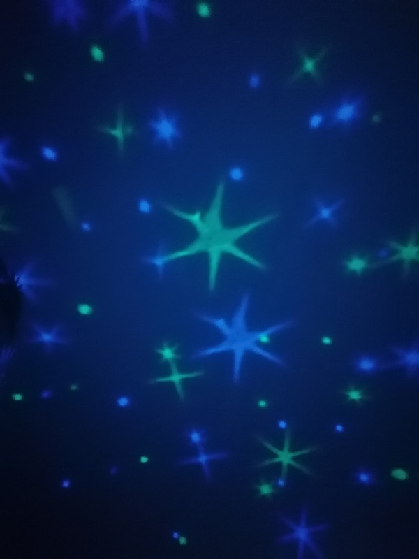 Blauer Sternenhimmel reer Nachtlicht