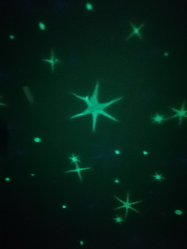 Gruener Sternenhimmel reer Starlight