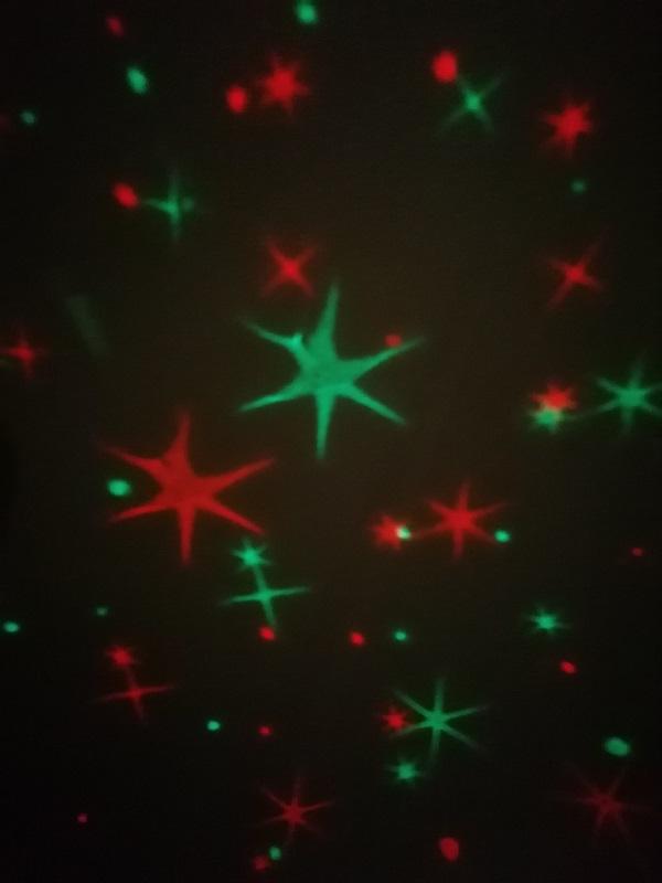 MyMagicStarlight Sternenhimmel rot gruen