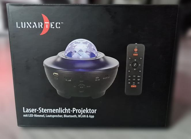 Unboxing Lunartec Laser-Sternenlicht-Projektor