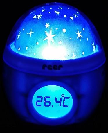 reer MyMagicStarlight Einschlaflicht Temperaturanzeige und Alarm
